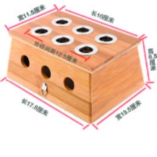 Moxa box with 6 holders