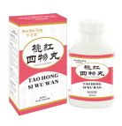 Tao Hong Si Wu Wan (FOUR INGREDIENT PILLS WITH SAFFLOWER AND PEACH SEED )